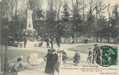 """/  CPA FRANCE 54 """"Toul, monument aux morts"""""""