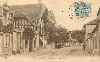 """/  CPA FRANCE 77 """"Barbizon, hôtel des Charmettes"""""""