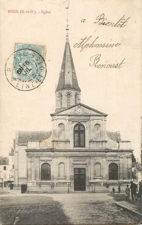 """/  CPA FRANCE 92 """"Rueil, église"""""""