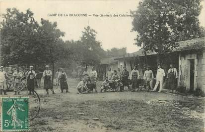 """/  CPA FRANCE 16 """"Camp de la Braconne, vue générale des cuisines"""""""