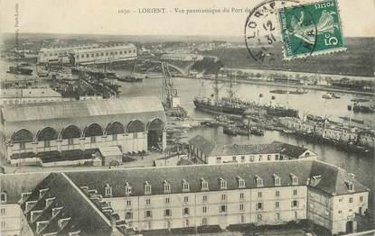 "/ CPA FRANCE 56 ""Lorient, vue panoramique"""