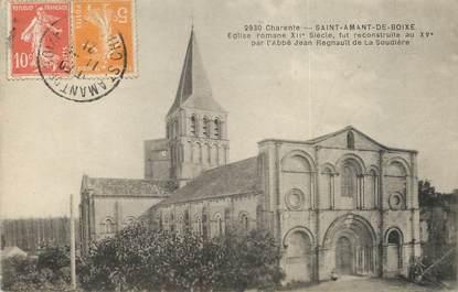 """/ CPA FRANCE 16 """"Saint Amant de Boixe, église romane"""""""