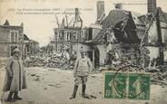 """02 Aisne / CPA FRANCE 02 """"Chauny, ville entièrement détruite"""""""