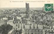 """78 Yveline / CPA FRANCE 78 """"Mantes La Jolie, le quartier environnant la Tour Saint Maclou"""""""