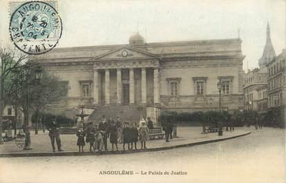 """/ CPA FRANCE 16 """"Angoulème, le palais de justice"""""""