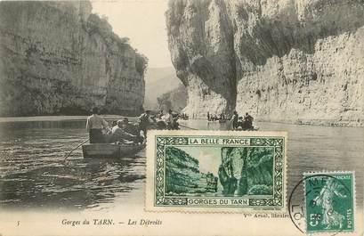 """/ CPA FRANCE 48 """"Gorges du Tarn, Les détroits"""""""