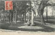 """10 Aube / CPA FRANCE 10 """"Romilly sur Seine, tombeau de Voltaire"""""""