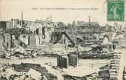 "80 Somme / CPA FRANCE 80 ""Les Ruines d'Albert, usine des cycles Rochet"""