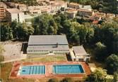 """17 Charente Maritime / CPSM FRANCE 17 """"Pons, vue aérienne sur la piscine"""""""