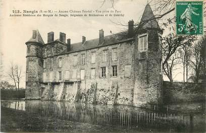"""CPA FRANCE 77 """"Nangis, ancien chateau féodal"""""""