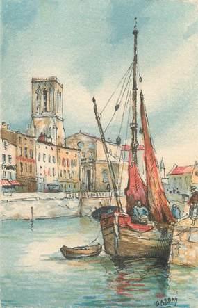"""/ CPA FRANCE 17 """"La Rochelle, église Saint Sauveur"""" / BARRE DAYEZ"""