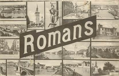 """CPA FRANCE 26 """"Romans"""" / Vues de la ville"""