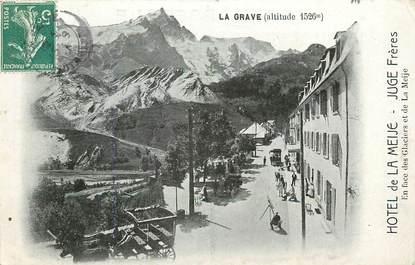 """CPA FRANCE 05 """"La Grave, Hôtel de la Meije, JUGE Frères"""""""