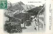 """05 Haute Alpe CPA FRANCE 05 """"La Grave, Hôtel de la Meije, JUGE Frères"""""""