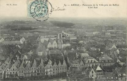 "CPA FRANCE 62 ""Arras, panorama de la ville"""