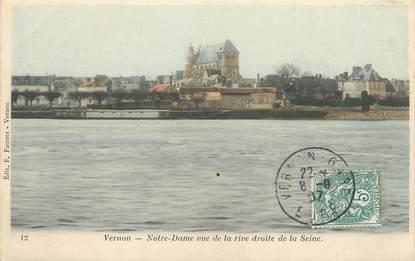 "CPA FRANCE 27 ""Vernon, Norte Dame de la rive droite de la Seine"""