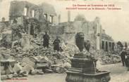 """54 Meurthe Et Moselle CPA FRANCE 54 """"Baccarat, bombardé par les allemands"""""""
