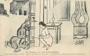 """Illustrateur CPA ILLUSTRATEUR LESTIN C. """"Au Village"""""""