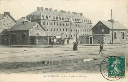 "CPA FRANCE 35 ""Saint Malo, la caserne du Rocabery"""