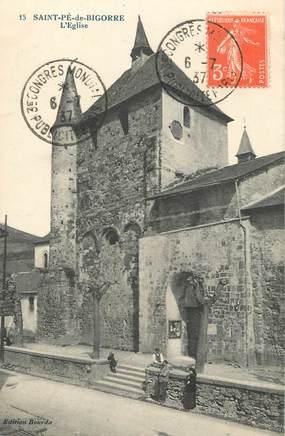 """CPA FRANCE 65 """"Saint Pé de Bigorre, l'église"""""""