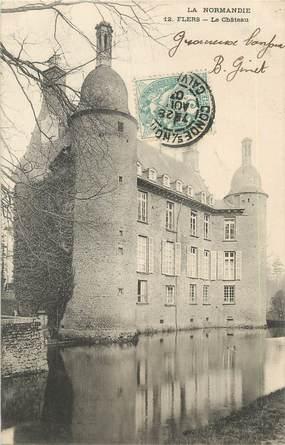 "CPA FRANCE 61 ""Flers, le château"""