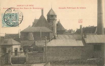 """CPA FRANCE 21 """"Arnay Le Duc, ancien château des Ducs de Bourgogne"""""""