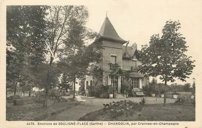 """CPA FRANCE 72 """"Chandolin, par Crannes en Champagne"""""""