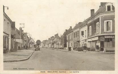 """CPA FRANCE 72 """"Bouloire, le centre"""""""