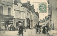 "72 Sarthe CPA FRANCE 72 ""Bonnetable, grande rue """