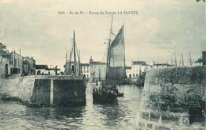 """CPA FRANCE 17 """"Ile de Ré, La Flotte"""""""