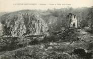 """23 Creuse CPA FRANCE 23 """"Crozant, ruines et vallée de la creuse"""""""