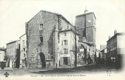"""CPA FRANCE 15 """"Saint Flour, ancienne église Notre Dame"""""""