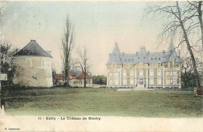 "CPA FRANCE 77 ""Esbly, chateau de Montry"""