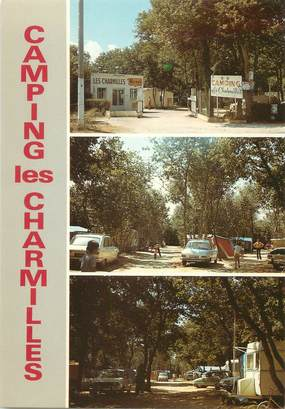 "CPSM FRANCE 17 ""Saint Laurent de la Pree"" / CAMPING"