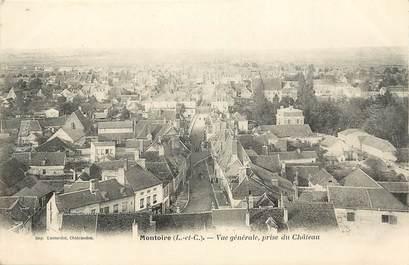 """CPA FRANCE 41 """"Montoire, vue générale prise du chateau"""""""