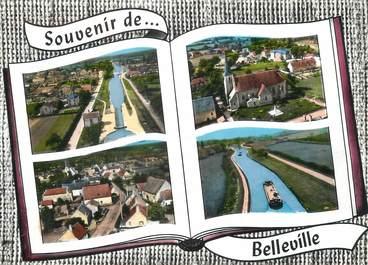 """CPSM FRANCE 18 """"Belleville"""""""
