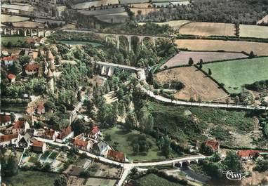 """CPSM FRANCE 18 """"Culan, la vallée de l'Arnon et les Viaducs"""""""
