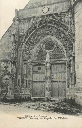 "CPA FRANCE 89 ""Thury, L'Eglise"""
