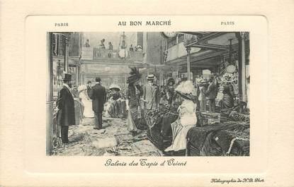 """CPA FRANCE 75006 """"Paris, Galerie des Tapis d'Orient"""" / AU BON MARCHE"""