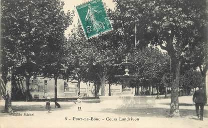 """/ CPA FRANCE 13 """"Port de Bouc, Cours Landrivon """""""