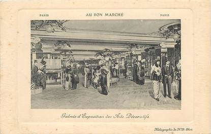 "CPA FRANCE 75006 ""Paris, ARTS DECORATIFS"" / AU BON MARCHE"