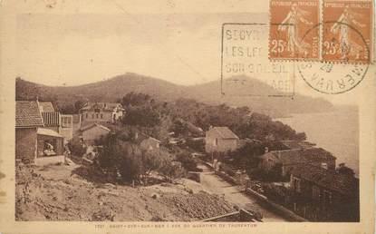 """/ CPA FRANCE 83 """"Saint Cyr sur Mer, vue de quartier de Taurentum"""""""