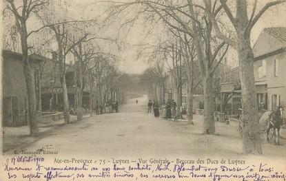 """/ CPA FRANCE 13 """"Aix en Provence;, Luynes, vue générale, berceau des Ducs de Luynes"""""""