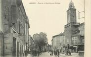 """13 Bouch Du Rhone / CPA FRANCE 13 """"Lambesc, place de la République et Horloge"""""""