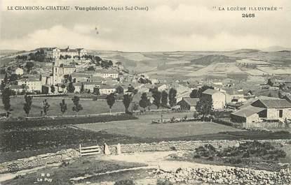 """CPA FRANCE 48 """"Le Chambon le Chateau, vue générale, aspect sud Ouest"""""""