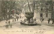 """13 Bouch Du Rhone CPA FRANCE 13 """"Salon, place de la grande fontaine"""""""