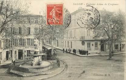 """CPA FRANCE 13 """"Salon, Fontaine Adam de Craponne"""""""