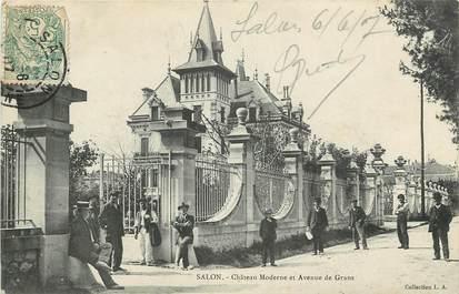 "CPA FRANCE 13 ""Salon, chateau moderne"""