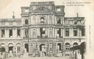 """75 Pari CPA FRANCE 75 """"Paris"""" / Série La Commune  1871 """"Le Palais des Tuileries incendié """""""