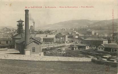 "CPA FRANCE 42 ""Saint Etienne, Mines de Montrambert"""